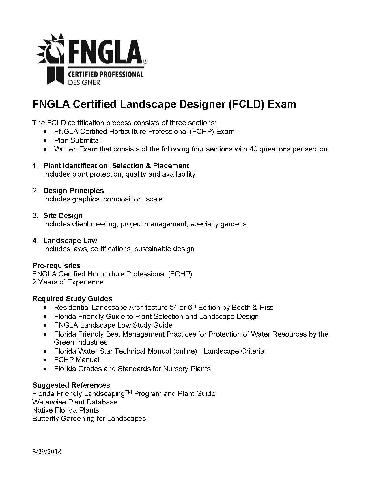 Landscape Designer Fcld Fngla